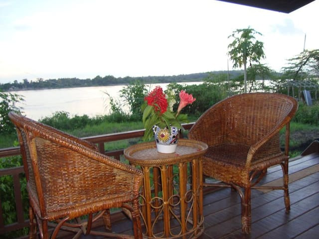 Flanerie on the Mekong - Vientiane - Bungalov