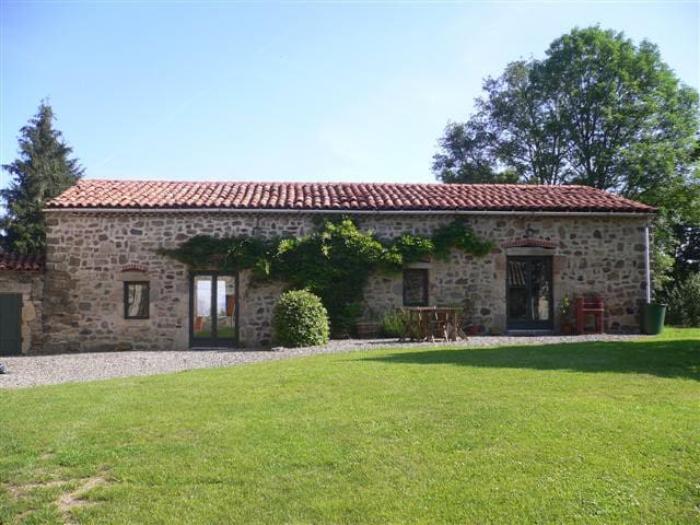 Beautiful gite for up to 5+baby, stunning location - Condat-lès-Montboissier - Wohnung