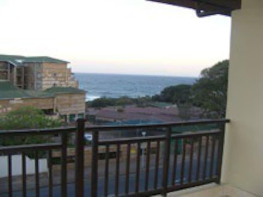 Lovely sea views from balcony and main bedroom