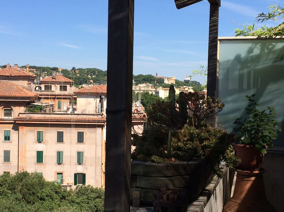 panorama fino a San Pietro