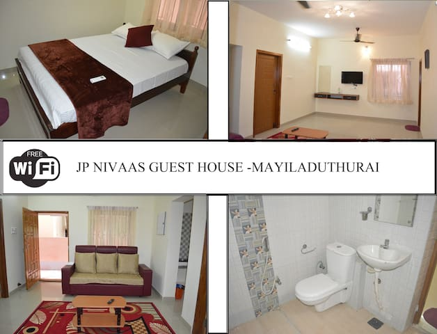 JP Nivaas Guest House in Mayiladuthurai - Nagapattinam - Dům pro hosty