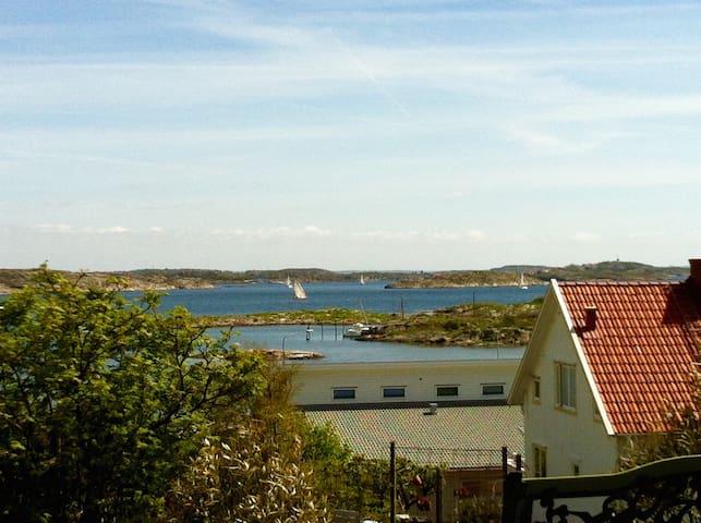 Havsutsikt på Hälsö, Gbgs skärgård - Öckerö