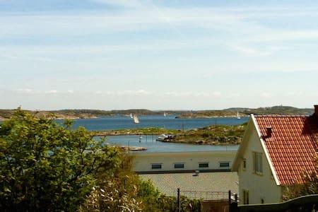 Havsutsikt på Hälsö, Gbgs skärgård - Öckerö - Ev