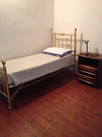 La seconda camera con due letti singoli