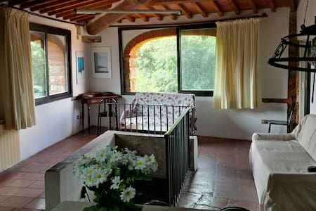 Unique Tuscan view, pool and relax - Pieve A Presciano - Wohnung