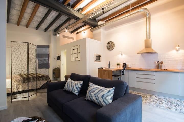 Beau loft situé à la vieille ville - Alacant - Loft