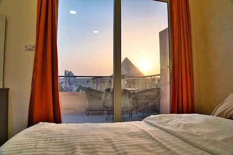 Great Pyramids View from your Sky Lounge (1)
