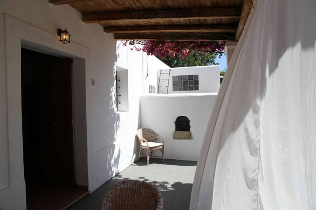 Terraza Suite El Naranjo