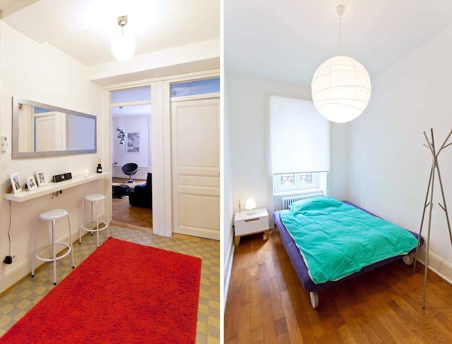 Trendy room in heart of Lausanne