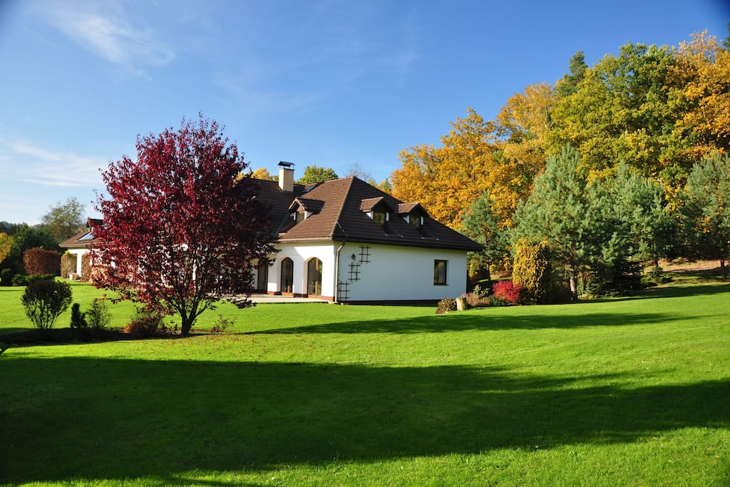 Accommodation Bohemian Switzerland in the October