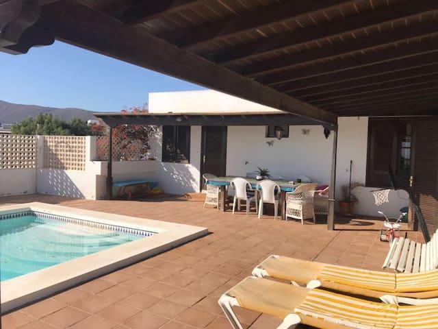 Habitación con vistas, piscina y desayuno - Macher