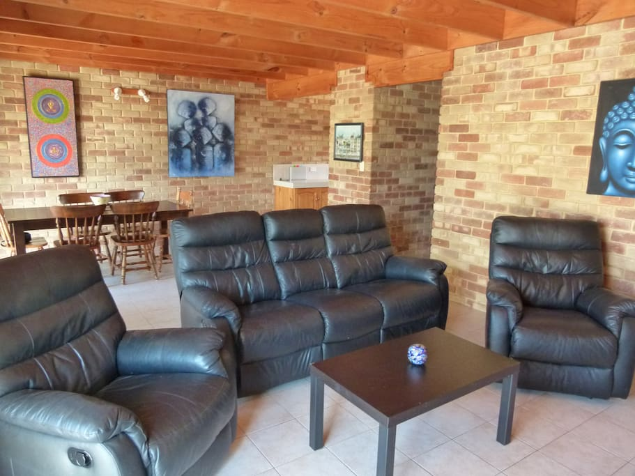 Comfy Lounge/ Dinning Room