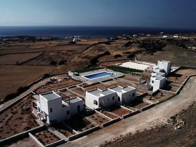 'Aiolides' housing complex in Paros - Aspro Chorio - Eiland