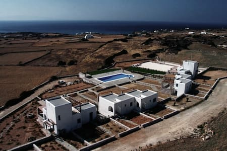'Aiolides' housing complex in Paros - Aspro Chorio