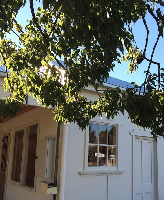 Historic stables restored as self contained cottage