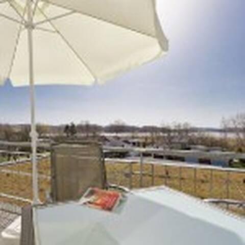 sonnige Wohnung mit Seeblick über 2Etagen auf 86m2 - Binz - Lakás