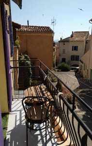 old town : 30m2 with internet and air-conditioner. - Roquebrune-sur-Argens