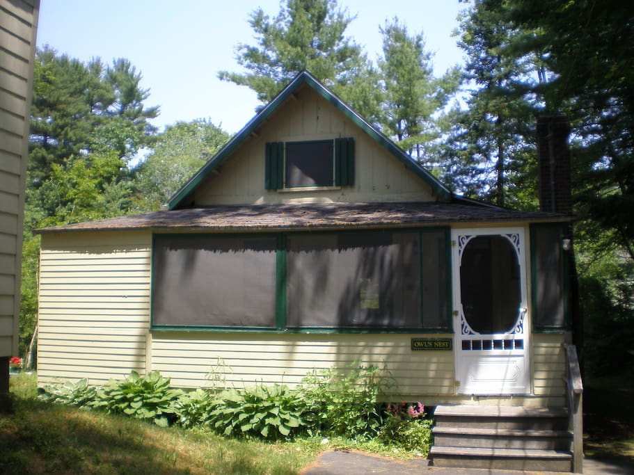 Charming 1928 Cottage Cabins For Rent In Old Orchard