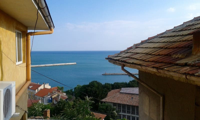 Double room with sea view - Balchik - Casa