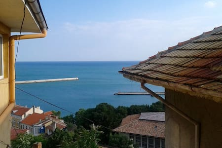Double room with sea view - Balchik - Casa