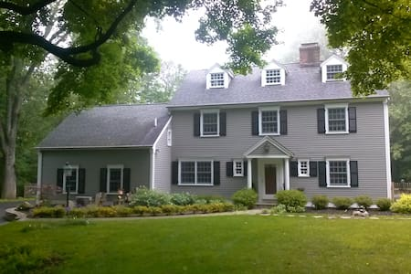 Room colonial house (New Bath) - Pound Ridge - Σπίτι
