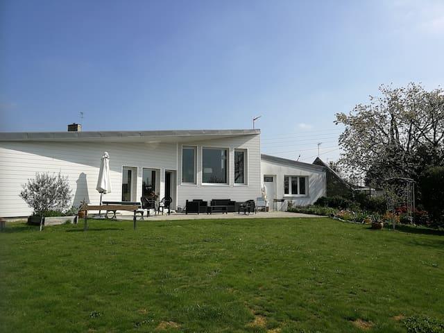 Maison d'architecte en baie