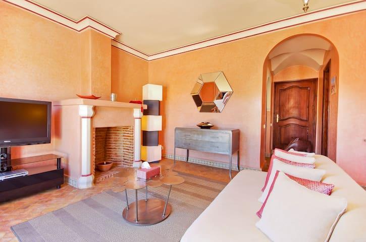 The Abiad Villa - Marakesz - Dom