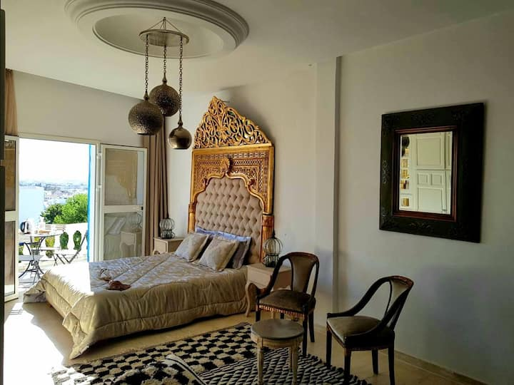 Private 5 Stars Duplex In The Center of SidiBou !