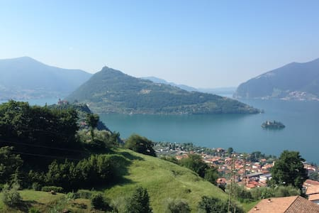 Relax and nature near Iseo Lake