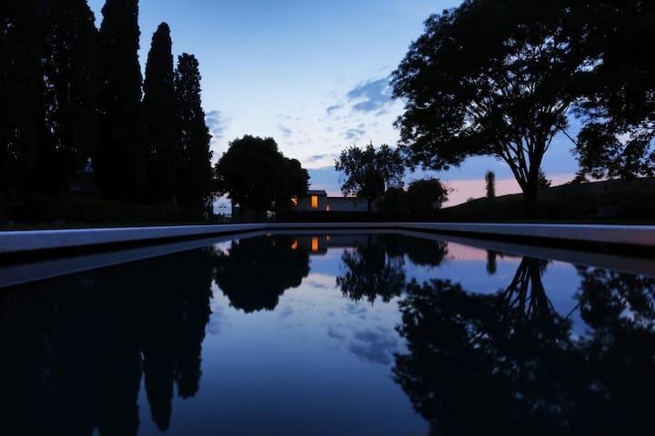 Villa Saccomani - Brick house