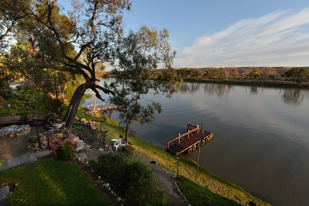 Stunning river views and private jetty