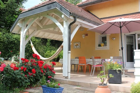 Les Eplantaz Chambre Bleue - Belley - Haus