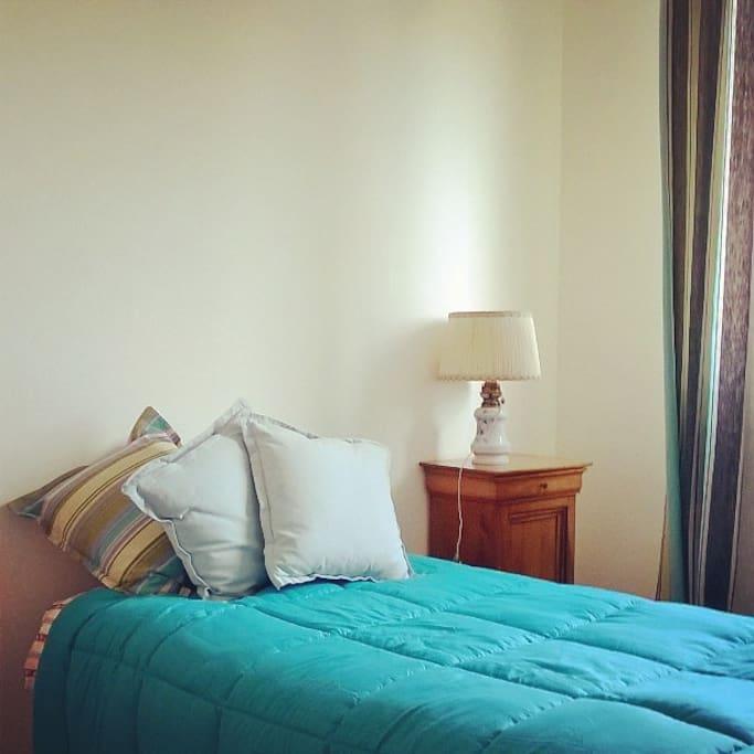 une chambre cosy au calme