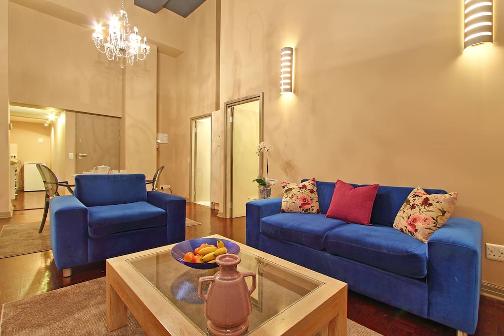 Aba's Place Lounge with comfy seating