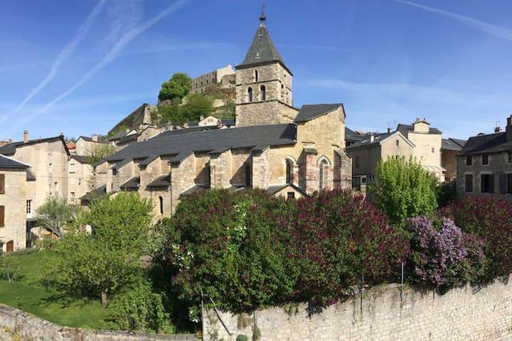 Au pied de la cité médiévale ! - Sévérac-le-Château - Appartement