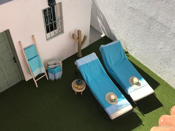 Villa Casa Cecilia Gueliz Marrakech - Piscine 4 ch
