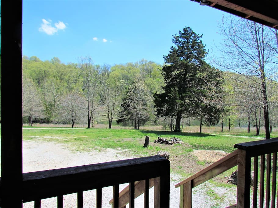 View From the Covered Front Porch