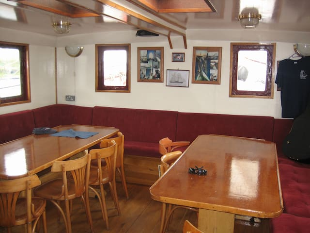 Cabins on Square Rigger Lady of Avenel