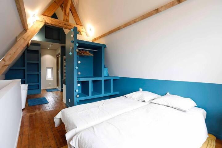 Chambres à louer dans maison entièrement rénovée