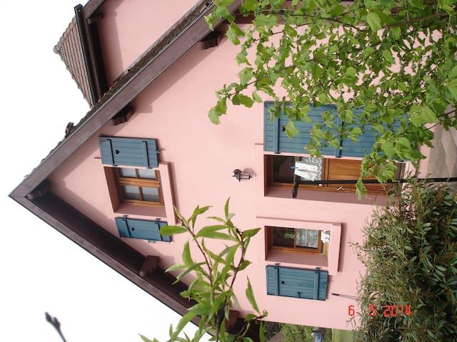 Une maison au calme - Husseren-Wesserling - Hus