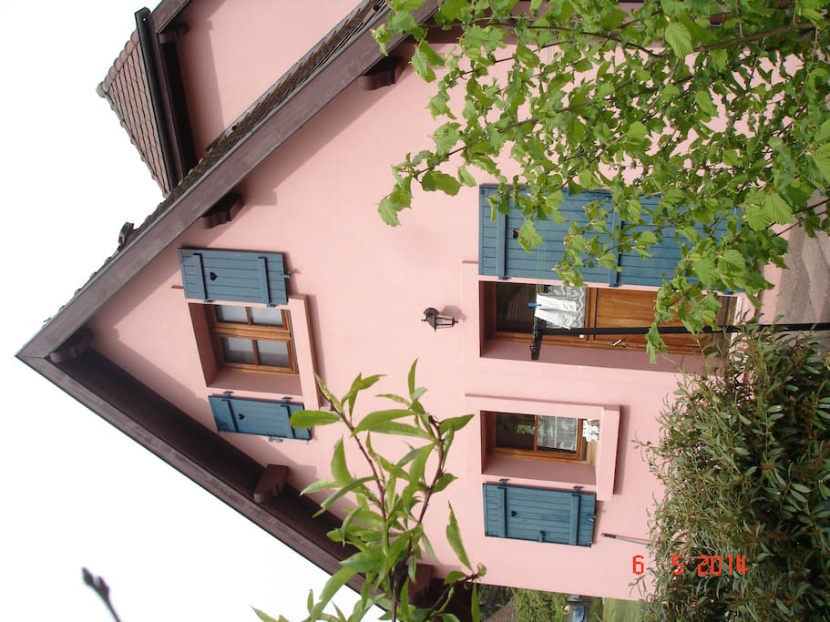 Une maison au calme houses for rent in husseren for Piscine wesserling