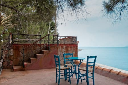 Molyvos Olive Grove Beautiful Beach Studios - Mithimna - 公寓
