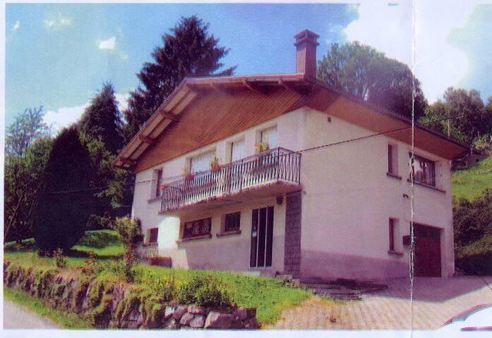 Maison type chalet sur les hauteurs - Saulxures-sur-Moselotte - Huis