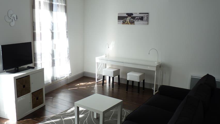 Bayonne Biarritz Pays Basque Charmant Meublé - Bayonne - Apartment