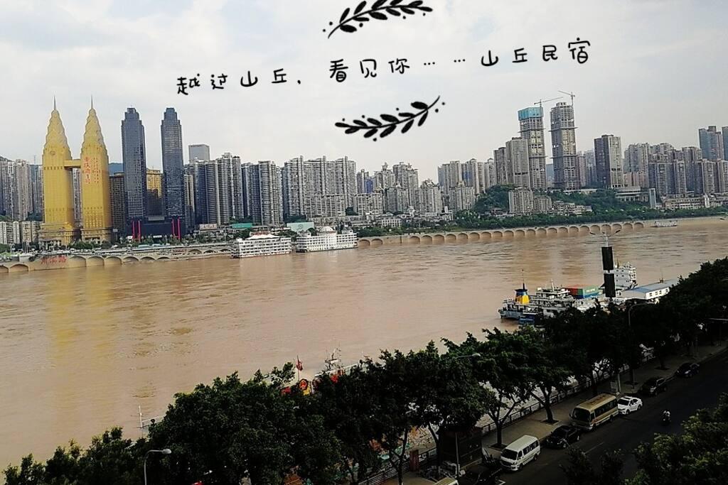 """第一视角,绝对""""无遮挡江景""""!离长江仅仅30米!"""