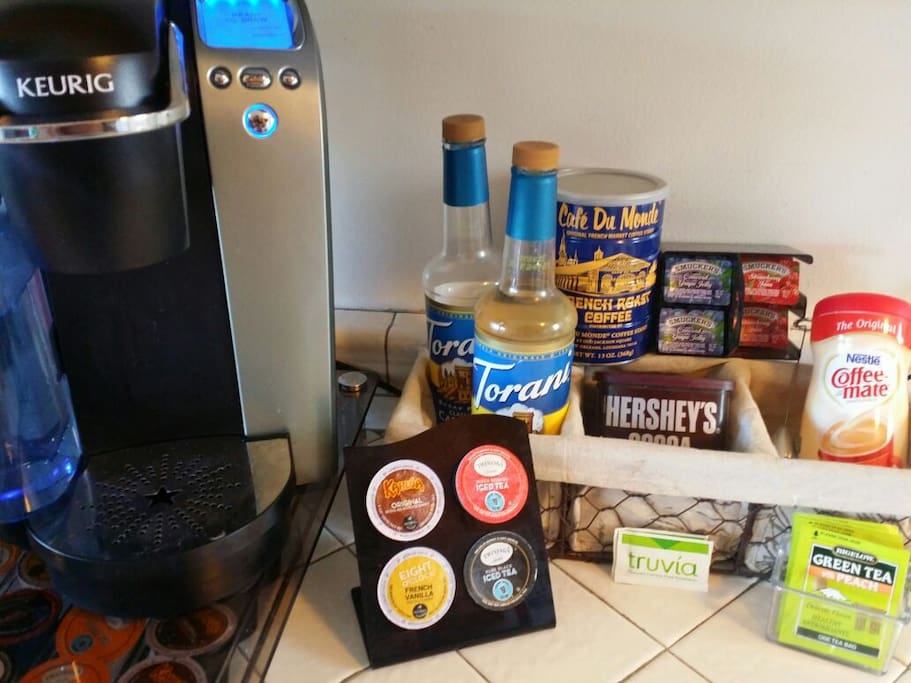 Keurig Coffee/Tea station