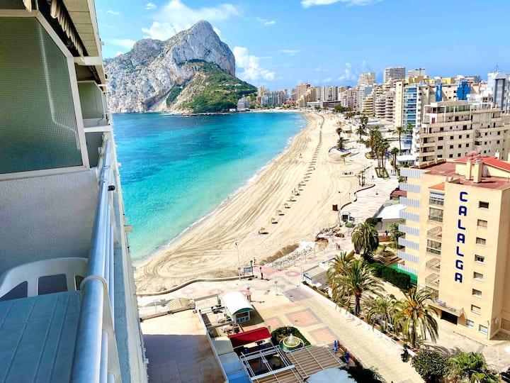 Calpe, playa fosa, piscinas, vistas, aire, WIFI