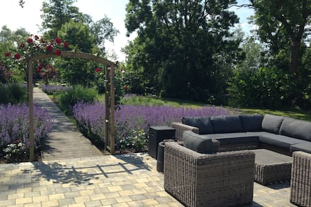 private,luxury,swimmingpools,garden,relaxation - Woerdense Verlaat - Apartament