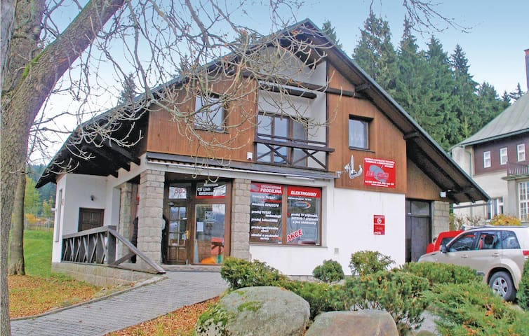 Holiday apartment with 2 bedrooms on 82 m² in Harrachov