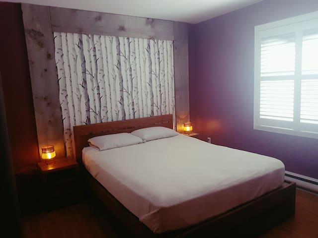 Condo chaleureux- Lac&Montagne - Magog - Apartment